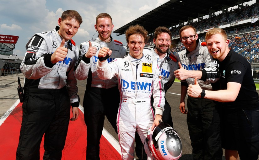 海外レース他 | DTM第6戦:ベルガーの甥、アウワーがポール・トゥ・ウインでDTM初勝利