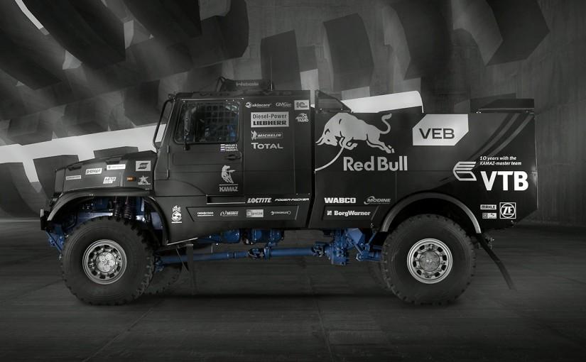 ラリー/WRC | ロシアより愛を込めて。ダカール制覇に向け新型『レッドブル・カマズ』始動