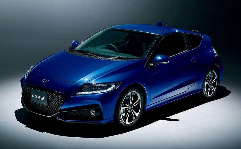 クルマ   ホンダCR-Z、年内をもって生産終了へ。特別仕様車『α・Final label』販売