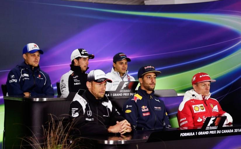 F1 | 会見ピックアップ:リカルドは電話でチームと和解、ペレスとマッサの遺恨は……