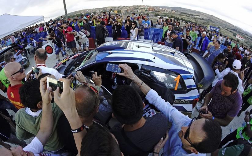 ラリー/WRC | 【順位結果】WRC第6戦イタリア SS1後暫定結果