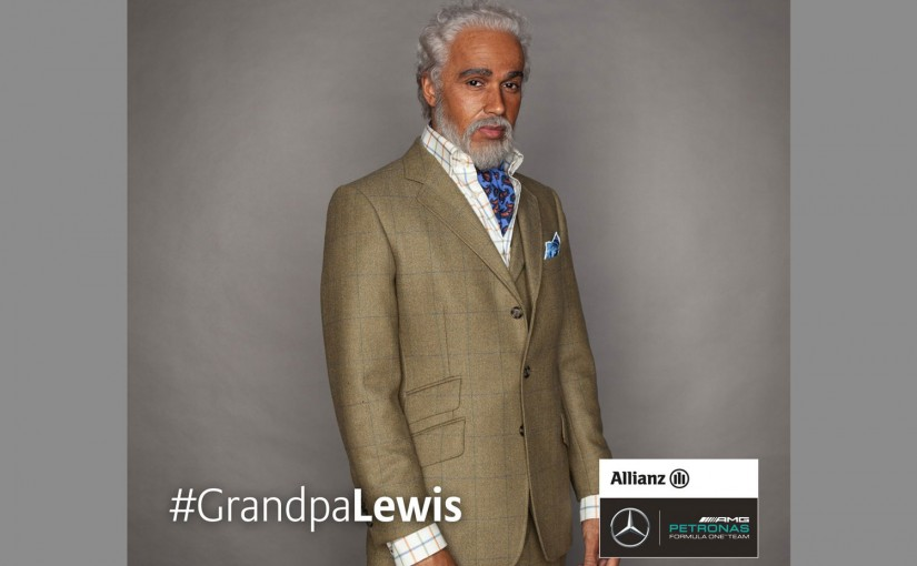 F1 | 動画:2066年、おじいちゃんになったルイス・ハミルトン