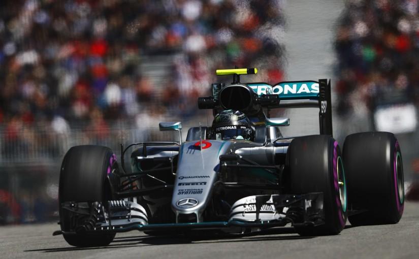 F1 | ロズベルグ「レッドブルは本当の速さを見せていない」:メルセデス カナダ金曜