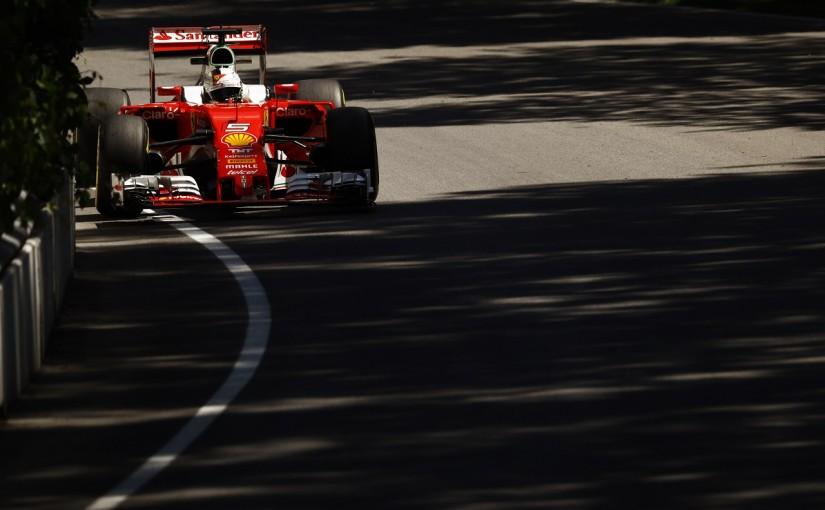 F1   ベッテル「新ターボによる向上を実感。メルセデス勢に勝ちたい」:フェラーリ カナダ金曜