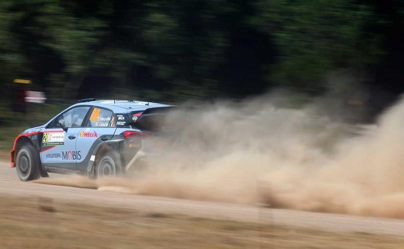 ラリー/WRC | WRCイタリア:今季不振のヌービル躍進。マシン炎上のパッドンはまたも不運