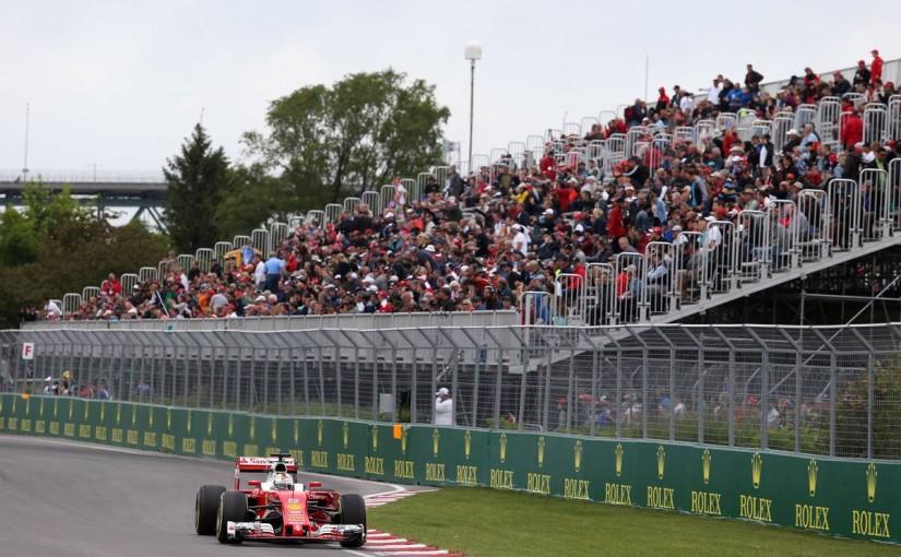 F1   赤旗終了のフリー走行3回目はベッテル首位。マグヌッセンはマシン大破も無事