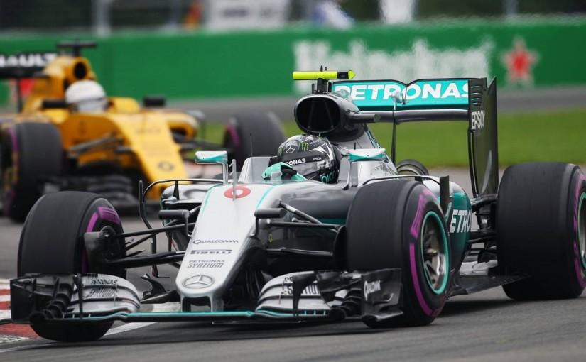 F1   予選Q1速報:雨を警戒しつつ、ロズベルグがトップで通過