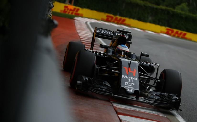 F1 | アロンソ「Q3は予想外。若手が知らない技で明日も驚かせたい」:マクラーレン・ホンダ カナダ土曜