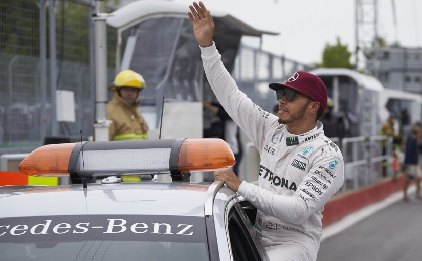 F1 | ハミルトン「出来が悪いラップでもポールはポール」:メルセデス カナダ土曜