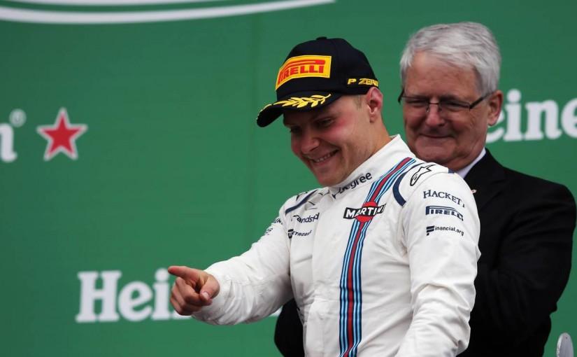 F1 | ピレリが予測した最速戦略をハミルトンとボッタスが実行して表彰台へ