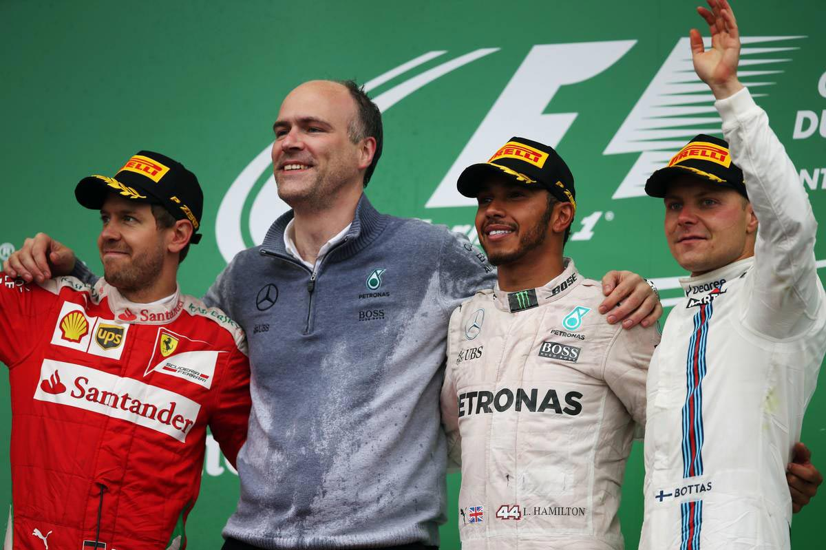 F1第7戦カナダGP表彰台