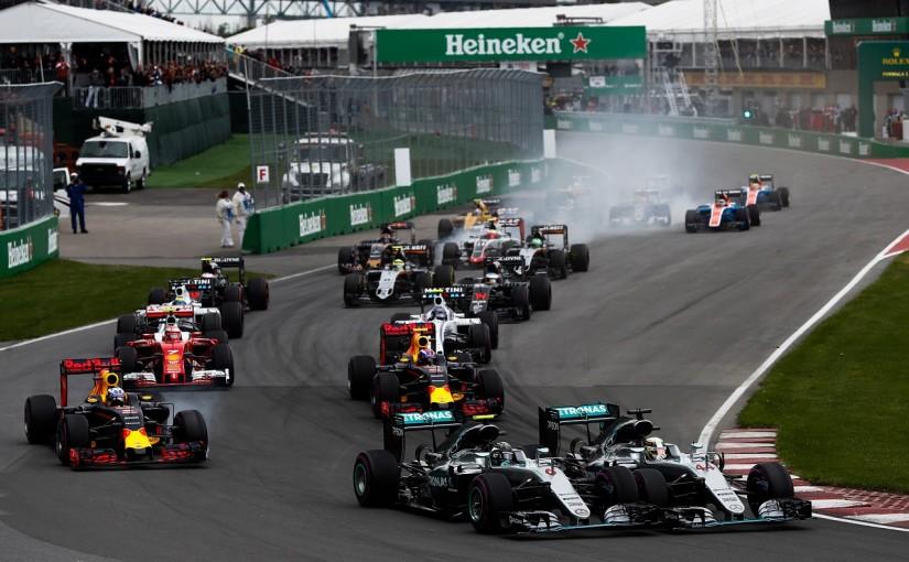 F1 | ロズベルグ「ルイスとの事故に、ものすごくむかついた」:メルセデス カナダ日曜