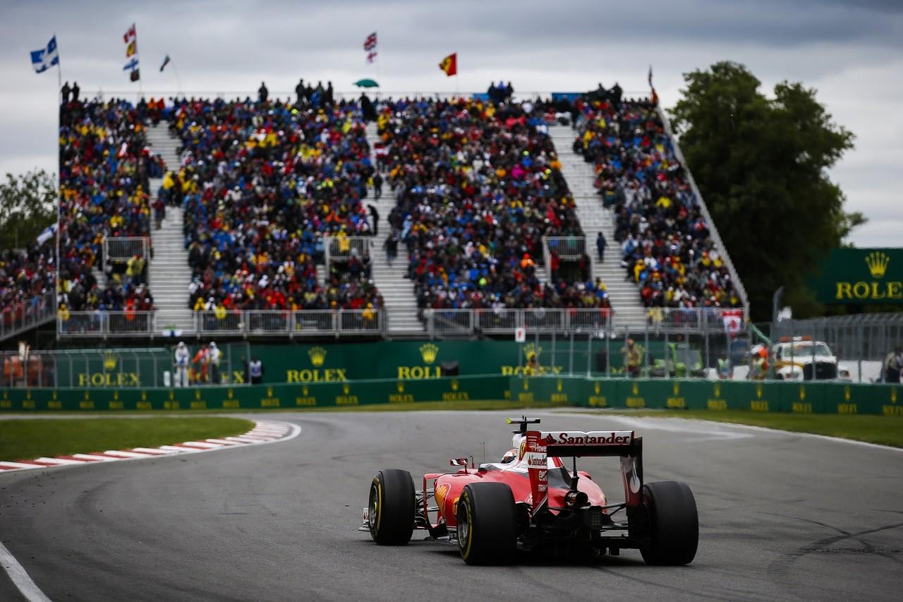 2016年第7戦カナダGP キミ・ライコネン(フェラーリ)