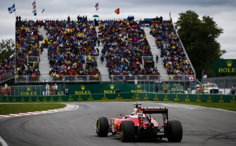 F1 | ライコネン「タイヤに苦しみ続けたレース」:フェラーリ カナダ日曜