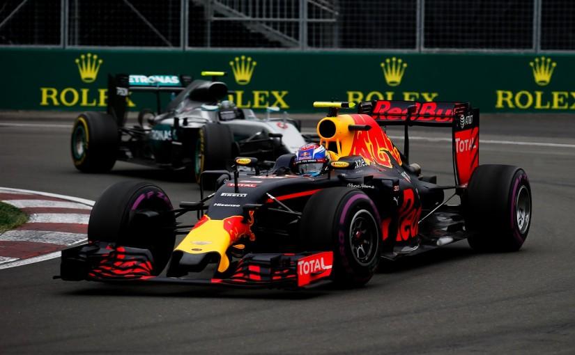 F1 | フェルスタッペン「ニコとのバトルは楽しかった!絶対負けたくなかった」:レッドブル カナダ日曜