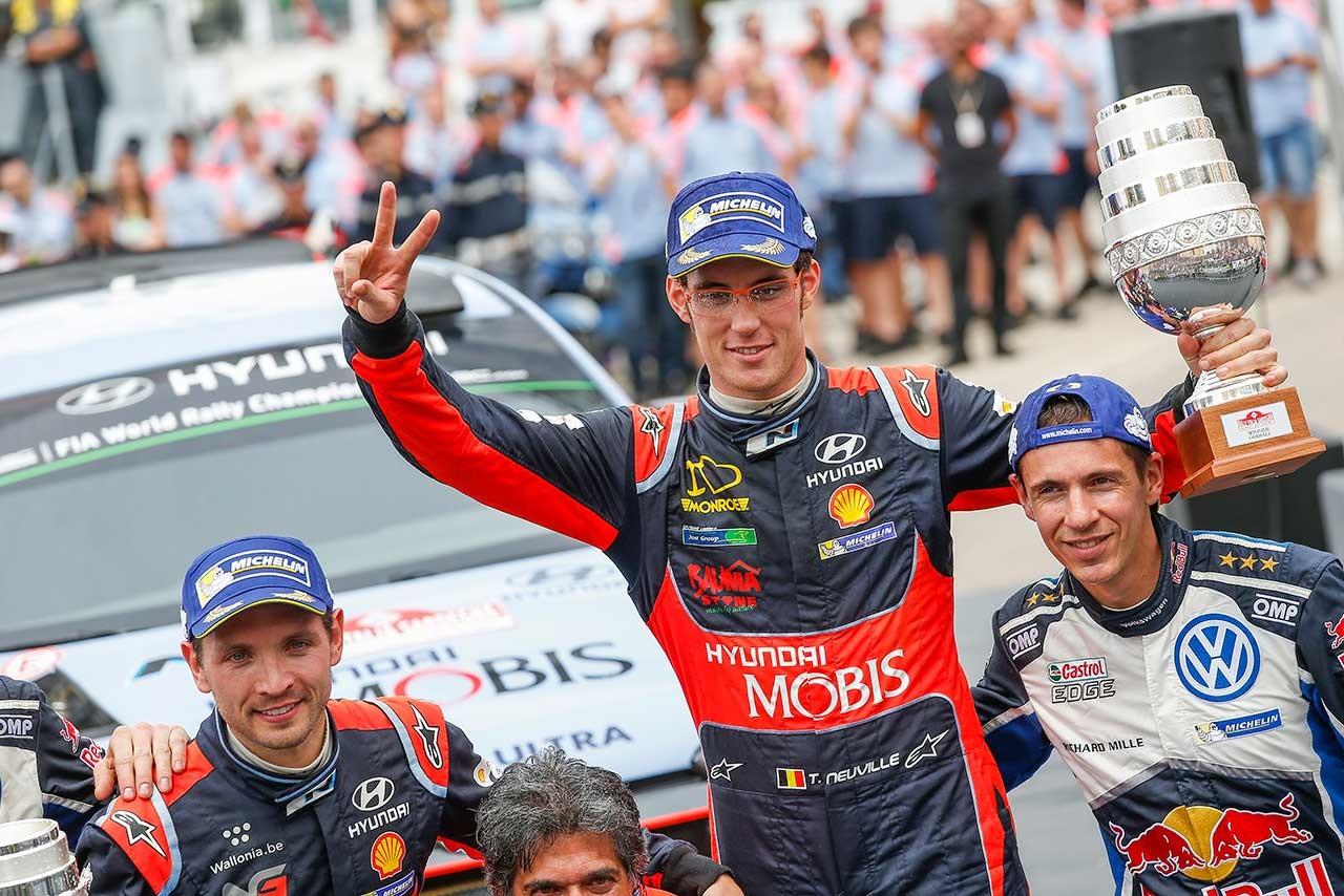 WRCイタリア:ヌービルが逃げ切り、22カ月ぶり2度目の総合優勝