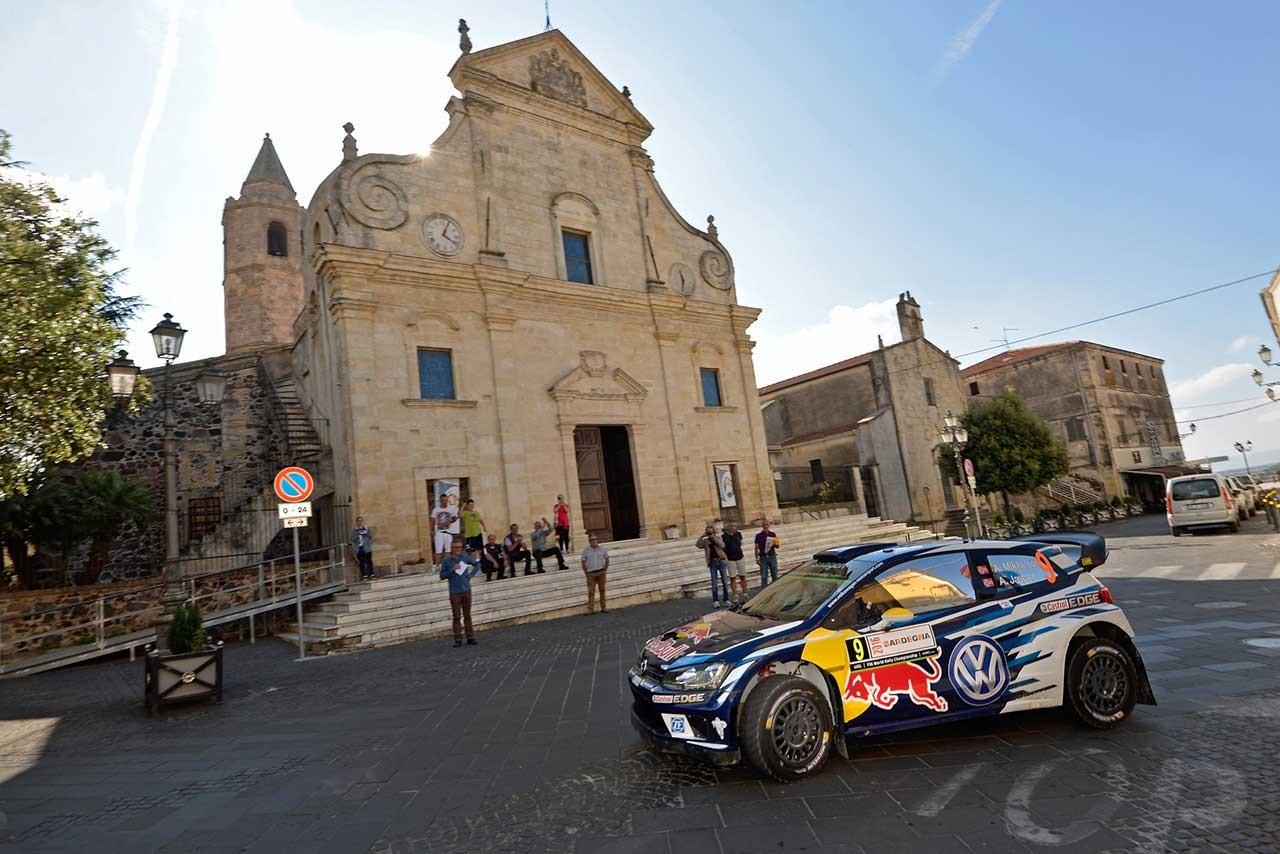 フォルクスワーゲン WRC第6戦 イタリア レポート