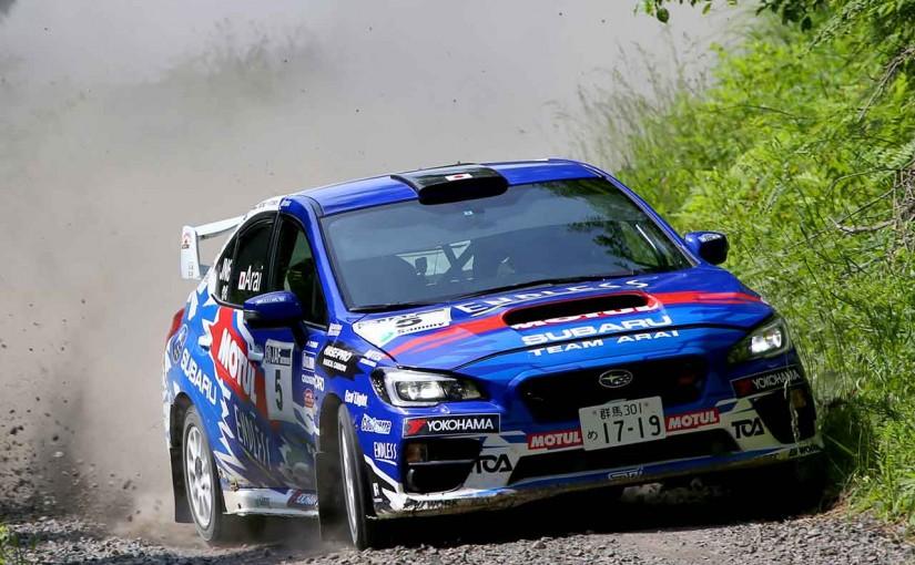 ラリー/WRC | JRC第4戦:昨年王者の新井が今季初優勝。コバライネンは競技参加できず