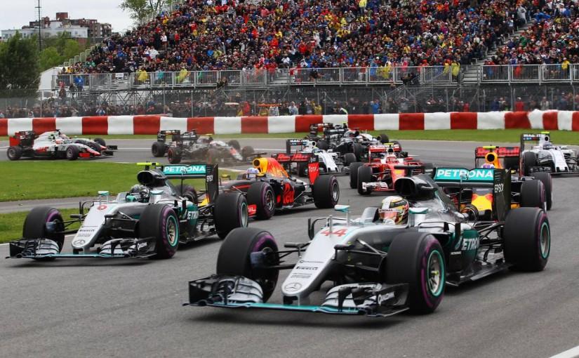F1   ハミルトン、ロズベルグとの接触で正当性を主張「僕はレコードラインにいた」