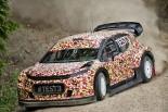 フィンランドでテストされたシトロエンC3 WRC