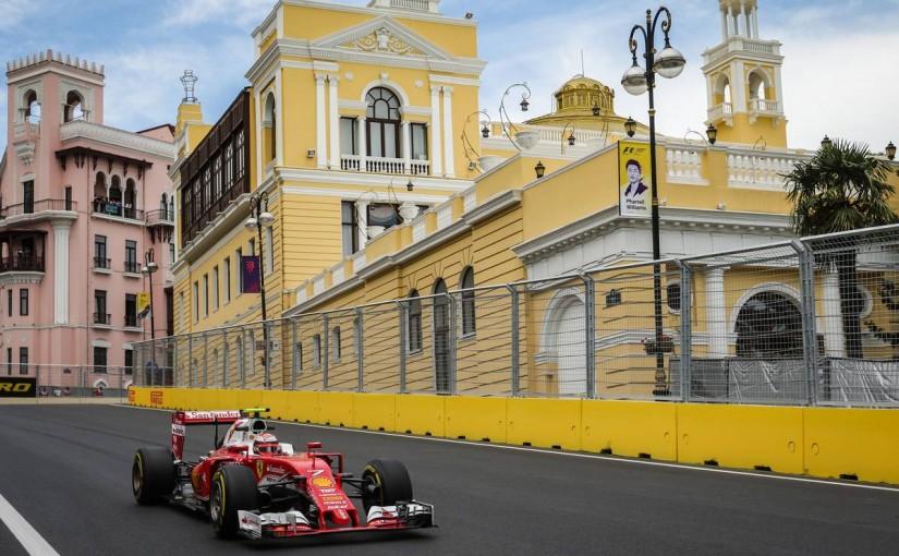 F1   新コース初日トップはハミルトン、ロズベルグとフェラーリ2台に異状が発生