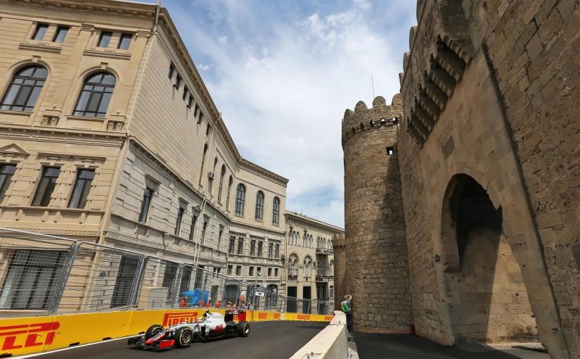 F1   グティエレス「ウォールに軽くヒットした」:ハースF1 ヨーロッパ金曜