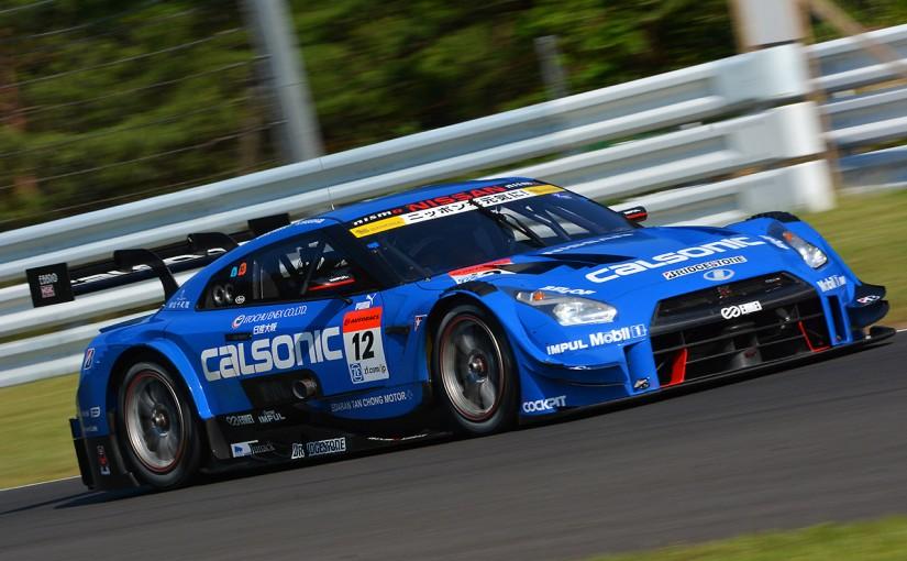 スーパーGT   スーパーGT SUGO公式テストの午後はカルソニックが最速。GT300はロータス首位