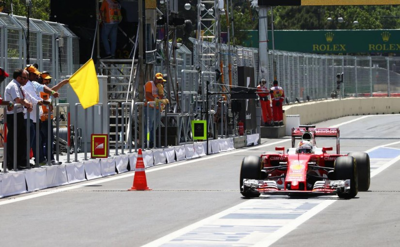 F1 | 【タイム結果】F1第8戦ヨーロッパGP フリー走行3回目