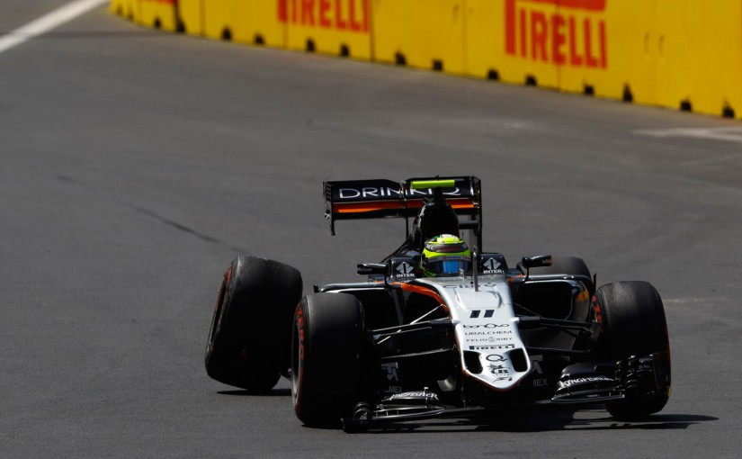 F1 | 動画:F1ヨーロッパGP、セルジオ・ペレスがフリー走行3回目でクラッシュ