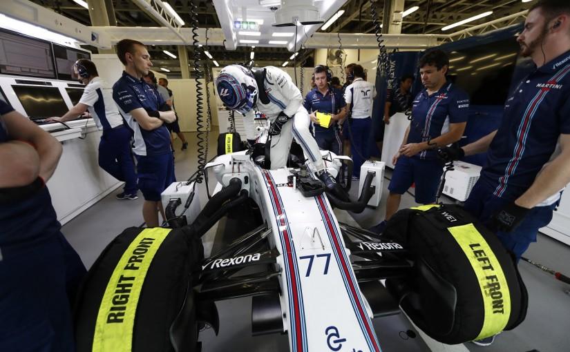 F1 | ボッタス「排水溝の事故といいフェルスタッペンとの一件といい、すごく不運」:ウイリアムズ ヨーロッパ土曜