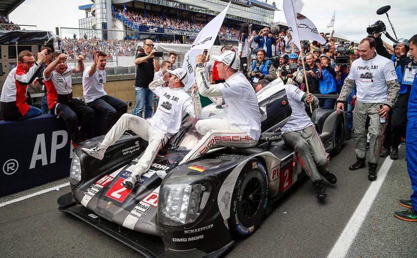 ル・マン/WEC | トヨタ初勝利の夢、残り3分で破れる。ル・マン24時間はポルシェ2号車が大逆転勝利