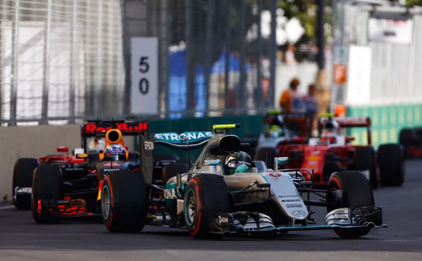 F1 | ロズベルグ、初開催の地で復活! ペレスは最終周コース上で3位を勝ちとる