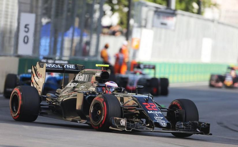 2016年第8戦ヨーロッパGP ジェンソン・バトン(マクラーレン・ホンダ)