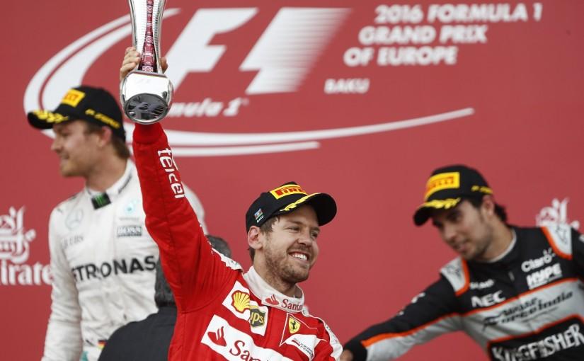 F1 | ベッテル「ライコネンのおかげで2位をつかめた」:フェラーリ ヨーロッパ日曜