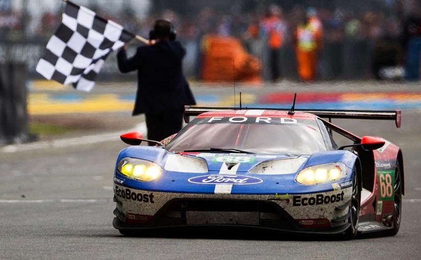 ル・マン/WEC | フォード、LM-GTE参戦1年目で勝利。1966年の初優勝から50年目を祝う