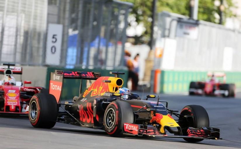 F1 | リカルド「1回ストップで走れないなんて予想外」:レッドブル ヨーロッパ日曜
