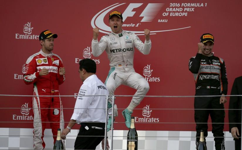 F1 | 今宮純の決勝インプレッション:ハミルトンを突き放した、ロズベルグの対応力