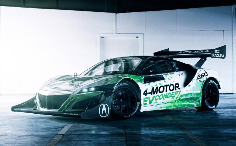 ラリー/WRC | ホンダのパイクス制覇に向けた最終兵器『アキュラNSX inspired EV コンセプト』公開