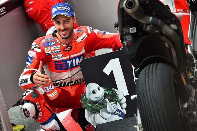 MotoGP   MotoGP第8戦オランダGP予選:ドビジオーゾが雨の予選を制し、今季初ポール獲得