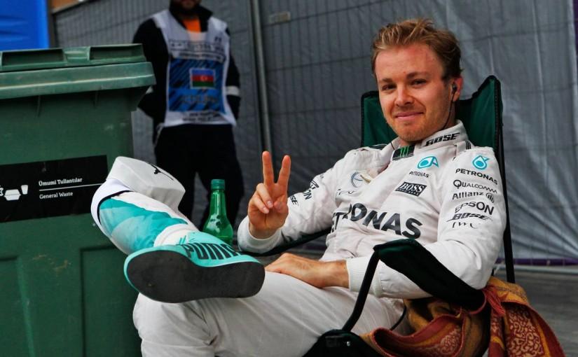 F1   ロズベルグ、契約延長に自信。メルセデスとの関係は「今後、何年も続く」
