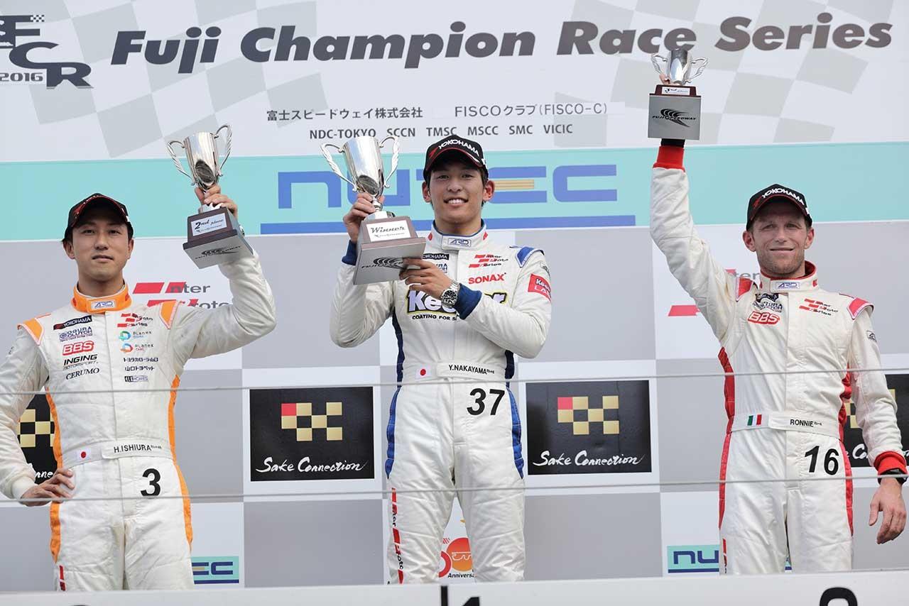 インタープロト第3&4戦:中山と石浦、両レースで激戦演じ優勝分け合う