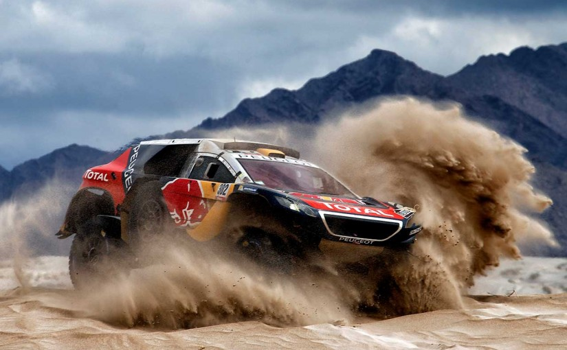ラリー/WRC | ローブ&プジョーがダカール前哨戦に参戦。改良型『2008DKRs』を投入