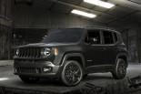 クルマ | 大人気SUV『Jeepレネゲード』にブラックボディの限定モデル追加