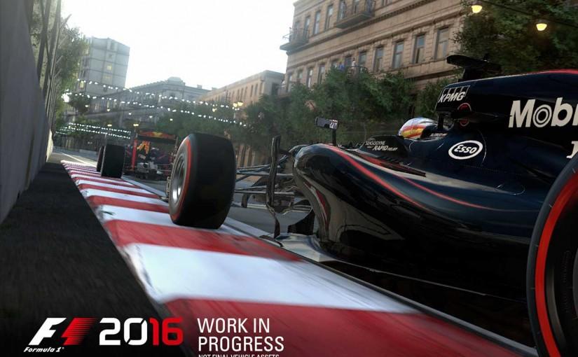 F1 | ファン待望のモードも復活。F1ゲーム最新作『F1 2016』の発売日決定