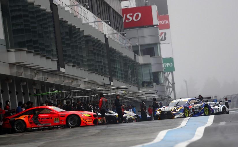 スーパーGT | スーパーGT富士メーカーテストは濃霧に。走行は午前の1時間で終了