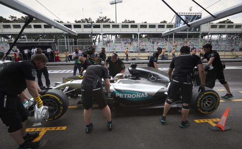 F1 | ハミルトン、5基目のPUエレメント投入。ペナルティ近づく