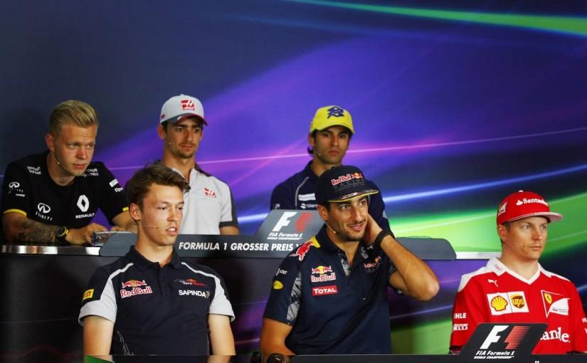 F1   会見ピックアップ:移籍の可能性を認めたリカルド「その話をすると長くなる」