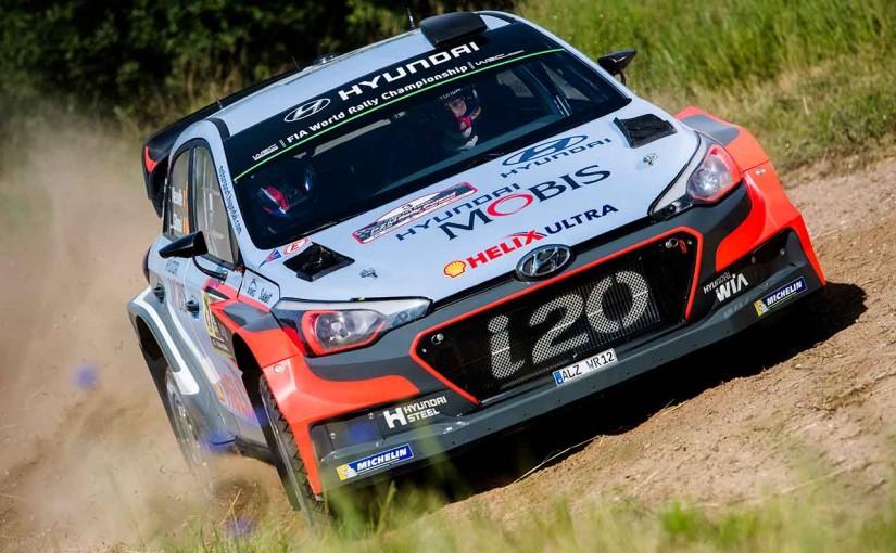 ラリー/WRC | 【順位結果】WRC第7戦ポーランド SS1後 暫定結果