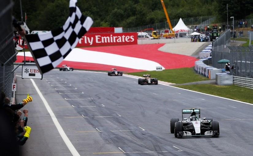 F1初の大企画。オーストリアでは...
