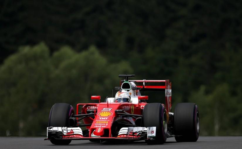 F1   フェラーリはMGU-Kに1トークン、ベッテルはギヤボックス交換で5番手降格へ